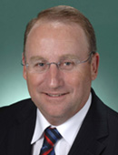 Official portrait of Steve Irons